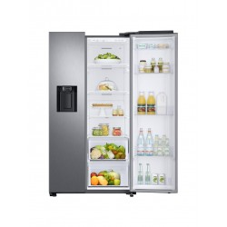 <p>Samsung RS68N8220S9, Independiente, Negro, Acero inoxidable, Puerta americana, LED, R600a, Vidrio</p>